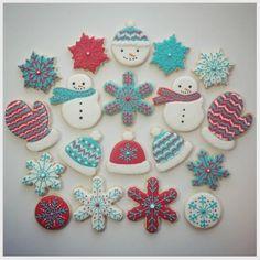 "Jessica Edwards on Instagram: ""First set of holiday cookies! I shipped these off yesterday. :) #decoratedcookies #customcookies #sugarcookies #christmascookies #cookies #saskatoon #yxe"""
