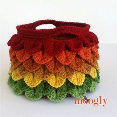 Ravelry: Changing Leaves Basket pattern by Tamara Kelly