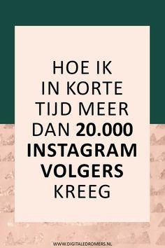Binnen een jaar heb ik meer dan 10000 Instagram volgers gekregen. In dit artikel vertel ik je hoe ik zo snel ben gegroeid op Instagram en geef ik tips hoe jij ook zo snel kunt groeien op Instagram en meer volgers kunt krijgen.