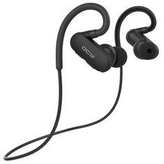 QCY QY31 Fone de Ouvido Bluetooth sem Fio Impermeável IPX4 Leve Grancho de Orelha Esportiva Headphone