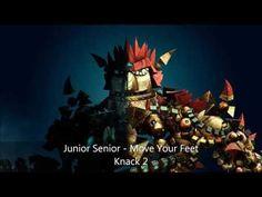 Junior Senior - Move Your Feet (Knack 2 - Trailer Soundtrack)