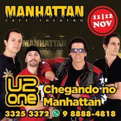 BOM LAZER_PE - U2 ONE LOVE: A melhor banda dos tempos modernos chegando no Manhattan - Bom Lazer - Seu fim de semana começa aqui