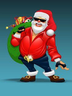 Atul Lahu Todankar:   Funky Santa............!