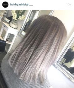 Image result for mid length balayage cool bonde #OmbreShortHair