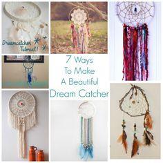 7 Ways To Make A Beautiful Dream Catcher