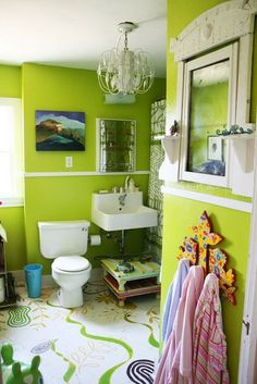 My Auckland Plumber: 9 Gorgeous Green Bathrooms