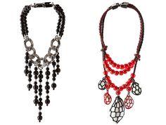 Jean Paul Gaultier Jewelry Spring/Summer 2012 Trends, Jean Paul Gaultier, Jewelry Collection, Crochet Necklace, Sparkle, Spring Summer, Necklaces, Jewellery, Bracelet