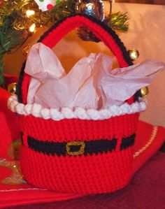 conni spot, sleigh bell, free pattern, napkin rings, wreath