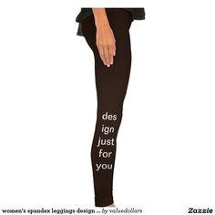 women's spandex leggings design just for you!