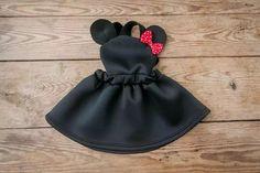 Daisy Petals Boutique — Minnie Mouse suspender dress