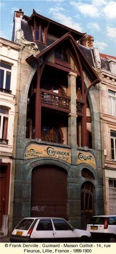 Maison Coilliot - 14 rue Fleurus - Lille - 1899-1900