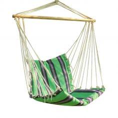 adeco green striped outdoor hammock chair hammock