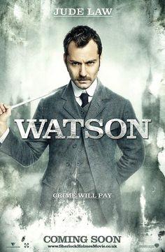 New Sherlock Holmes character posters | GamesRadar