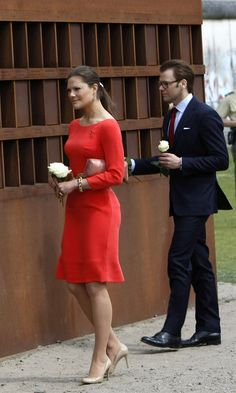 Princess Victoria Photos - HRH Crown Princess Victoria Of Sweden And Prince Daniel On Germany Visit - Day 4 - Zimbio