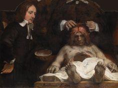 The Anatomy Lesson of Dr Deijmann, 1656 Rembrandt  (Jonathan Jones's top 10 art shows of 2014)