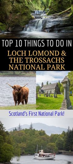 A guide to visiting Loch Lomond & the Trossachs National Park, Scotland's very first national park. Loch Lomond is a popular area for nature and outdoor seekers and makes an easy weekend or day trip from Glasgow or Edinburgh Scotland. We'll share the
