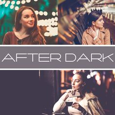 After Dark Lightroom Presets Mobile & Desktop Lightroom Presets For Portraits, Mobile Photos, After Dark, Professional Photographer, Vignettes, Purple Yellow, Blue Green, Portrait Photographers, Night Life