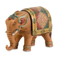 We love elephant décor, so we're introducing the new Bombay® Jaipur Elephant table, an outdoor side table, and looking at other elephant accessories.