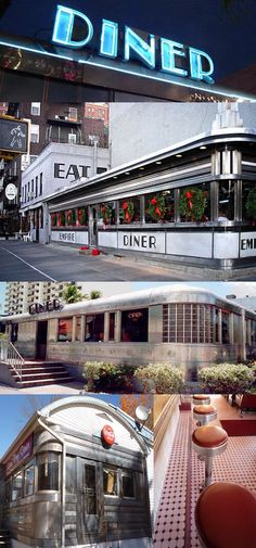I lived just around the corner of this diner!! NYC