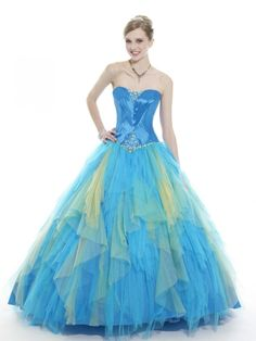 1000 images about colored wedding dresses on pinterest for Unique colorful wedding dresses