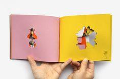 Que buena idea para hacer tu propio libro infantil!