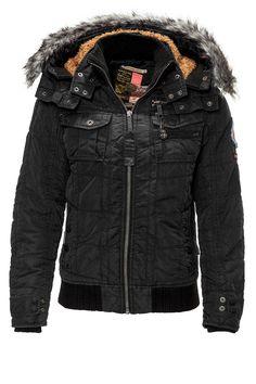 Khujo Men's Winter Jacket Goliat Col. Black 200, 139,95 €