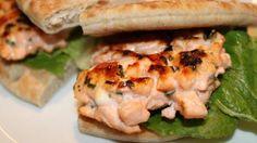 Norwegian Salmon Burger