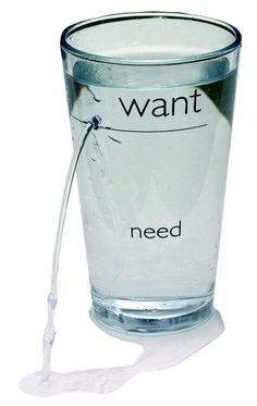 want want need need