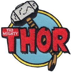 The Avengers 'Thor The Mighty' Iron on Patch Image 2 of 3