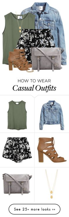 """""""Late Summer Casual"""" by rarityx on Polyvore featuring мода, H&M, Jennifer Zeuner, Chicnova Fashion и Lucky Brand"""