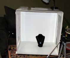 DIY foam board light box tutorial