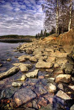 Lake Väsman by Swesebbe, via Flickr