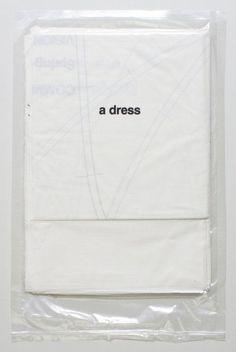 hh | inspiratie | Comme Des Garcons 97 - opvouwbare meeneem jurk ;)