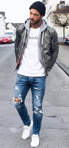 Men winter fashion 843510205190883750 - Style vestimentaire homme automne 19 Ideas Source by iharchlienne Mode Outfits, Casual Outfits, Fashion Outfits, Fall Outfits, Mode Man, Style Masculin, Herren Style, Herren Outfit, Men Street