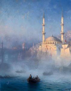 İstanbul, 1852, Ivan Aivazovsky.