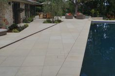 Silverdale Limestone Sandblasted Provided by Peninsula Building Materials (PBM)