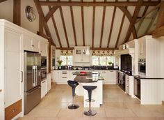 The New England Kitchen by Mark Wilkinson Furniture