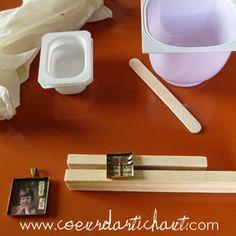 Réalisation de bijoux en résine, explication étape par étape Resin Crafts, Homemade, Crafty, Resin Jewelry, Resin Tutorial, Home Made, Hand Made