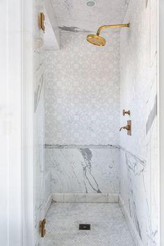 shower New Bathroom Ideas, Bathroom Inspiration, Modern Bathroom, Small Bathroom, Interior Inspiration, Bathroom Showers, Classic Bathroom, Bathroom Goals, Bath Ideas