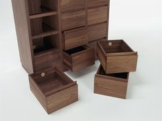Wooden chest of drawers DIA 2009 - Riva 1920