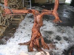 clothed in copper Wire Trees, Art Forms, Copper, Texture, Projects, Crafts, Painting, Plus Size, Surface Finish