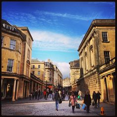 Bath in Bath and North East Somerset, Bath and North East Somerset - went here once before I read Jane Austen, but I'd appreciate it so much more now!