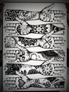 Tom Gilmour Tattoo