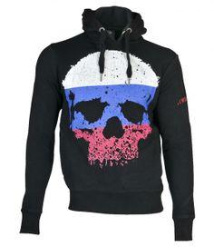 Thug Life World Skull Hoodie Russia