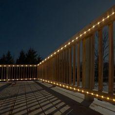 Warm White LED Mini Rope Light   2 Pk