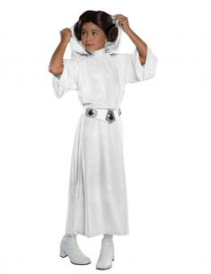Rubie's Star Wars Princess Leia Dress-Up Set - Kids Kids Star Wars Costumes, Star Wars Halloween, Family Halloween Costumes, Cool Costumes, Costumes Kids, Disney Halloween, Costume Ideas, Star Wars Kids, Disney Star Wars