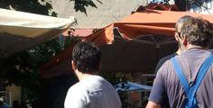 """Ο """"τυφώνας"""" ΣΔΟΕ σάρωσε χθες το πρωί την λαϊκή αγορά του Πύργου- ΦΩΤΟ"""