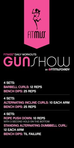 FitMiss Gun Show Workout