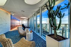 Google Office Tel Aviv - Wellness Area | Identity: Energy & Vitality
