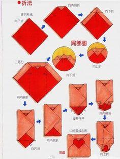 Las Mejores 27 Ideas De Doblar Cartas Origami Manualidades Origami Tutorial De Origami